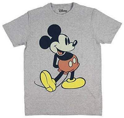 $11.49 • Buy Disney Men's Giant Mickey Mouse Gray Graphic T-Shirt