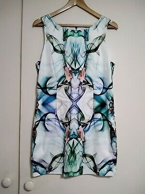 AU22 • Buy Forever New Zip Backed Dress Size 14