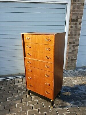 £295 • Buy G Plan E Gomme Tola Tall Chest Of Drawers
