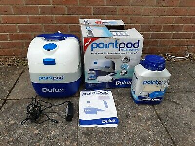 Dulux Paint Pod Roller System. Complete & Boxed - With Ivory PAINT TUB Emulsion  • 4.99£