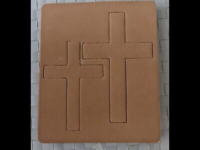 £9 • Buy Wooden Cutting Die. Layered Cross. Cuts Fabric   For Big Shot