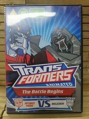 £1.99 • Buy Transformers DVD The Battle Begins. (Animated)
