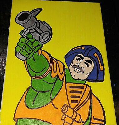 $20 • Buy Masters Of The Universe -Man-At-Arms 9  X 12  Canvas Art - Many Canvas Art Avail