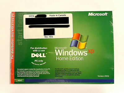 £14.86 • Buy Microsoft Windows XP Home Edition 2002 SP2 NEW SEALED
