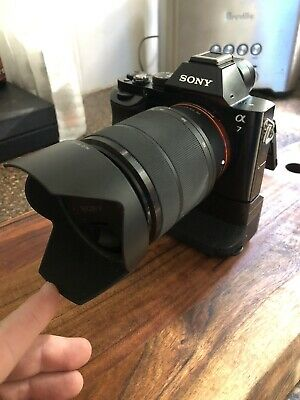 AU850 • Buy Sony Alpha A7 24.3MP Digital Camera - Black. 28-70mm Lens And Battery Grip