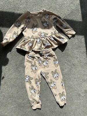 Next Daisy Duck Jogging Set Age 2-3 Years • 4.60£