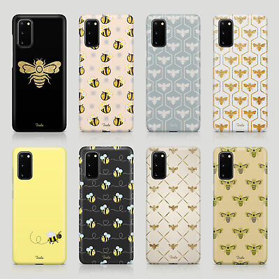 $ CDN8.64 • Buy Tirita Case For Samsung S20 S10 S8 S9 S7 Funny Quotes Bees Drone Honey Gold