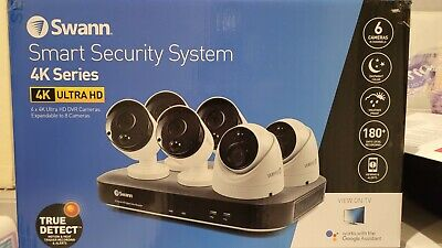 AU500 • Buy Swann 6 Camera 8 Channel 4k Ultra HD DVR Security System