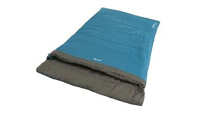 £49.99 • Buy Outwell Celebration Lux Double Sleeping Bag - Blue 2021 Model RRP £62.99 -