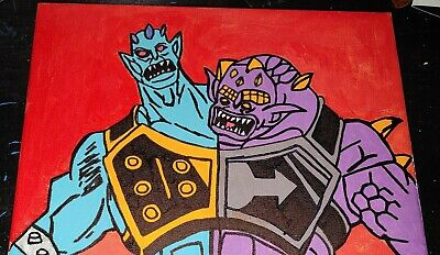 $20 • Buy Masters Of The Universe - Two Bad 9  X 12  Canvas Art - Many Canvas Art Avail