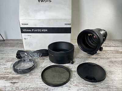 AU1402.79 • Buy Sigma 105mm F/1.4 DG ART HSM Lens For Sony E-mount LN-. With B+W HCT-CPL