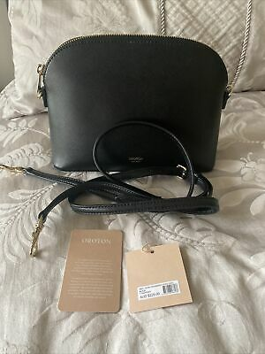 AU63 • Buy Authentic Oroton Hand Bag Crossbody In Black Leather! RRP $229