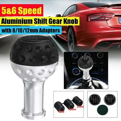 AU16.44 • Buy 5 / 6 Speed Car Gear Shift Knob Ball MT Lever Stick Shifter + 8/10/12m W