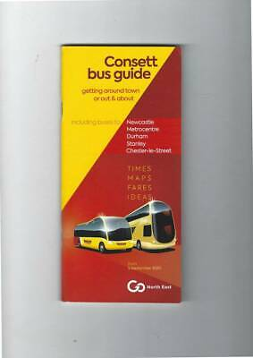 £3.99 • Buy Go North East (Consett) Bus Timetable Book, 5th September 2020.