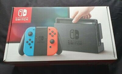 $ CDN1.69 • Buy Nintendo Switch Console Red/Blue - Box Only