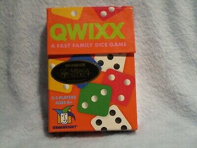 $ CDN6.03 • Buy Qwixx A Fast Family Dice Game By Gameright