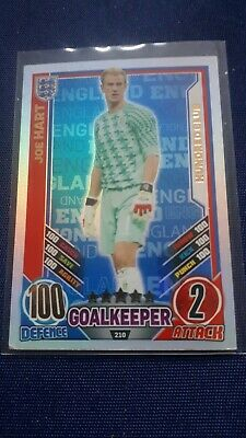 £0.99 • Buy  Match Attax England Euro 2012 Joe Hart 100 Hundred Club No 210