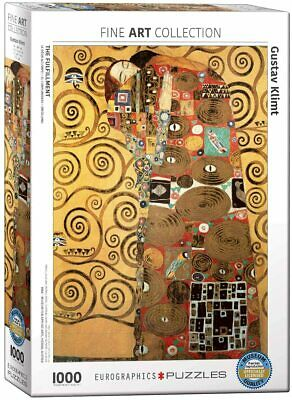 $ CDN31.97 • Buy Eurographics The Fulfillment By Gustav Klimt 1000-Piece Puzzle FREE SHIPPING