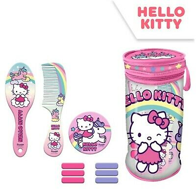 $ CDN18.79 • Buy Licensed Hello Kitty 10Pcs Hair Accessories In Cylinder Bag Girls Kids Gift