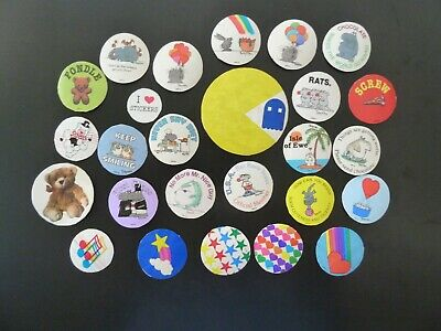 AU57.20 • Buy Vintage 80's Boynton & Assorted Stickers With Backings, Used,  Great Condition