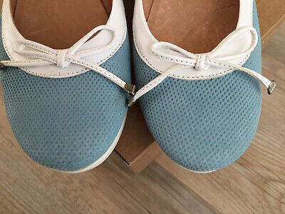 £15 • Buy Riva Ballet Pump Shoes, Size 40 (6.5), Wedged