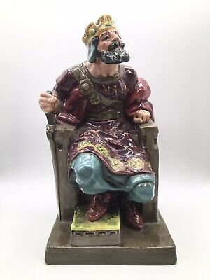 $ CDN145.32 • Buy EARLY LARGE ~ Royal Doulton THE OLD KING Figurine ~ Hand Painted ~ EXCELLENT