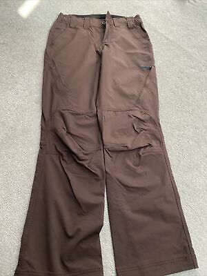 Berghaus Walking Trousers Brown  Size 8 Never Worn . Elastane Type Material • 25£