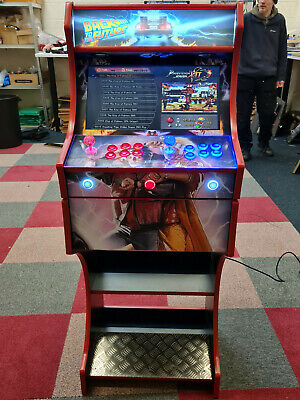 £764.99 • Buy Arcade Machine 2 Player - Back To The Future  Themed Design Whooping 7000+ Games
