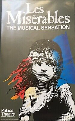 £30 • Buy Les Miserables RARE Poster Palace Theatre