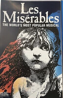 £12 • Buy Les Miserables Palace Theatre Poster