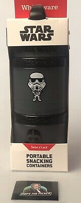 £6.51 • Buy Whiskware Star Wars Twist N' Lock Portable Snacking Containers