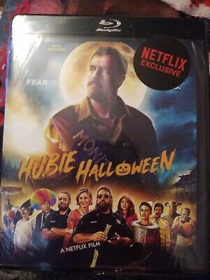 AU51.50 • Buy NEW HUBIE HALLOWEEN Blu Ray Region Free Adam Sandler Comedy Movie NetFlix