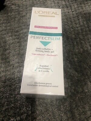 £55 • Buy L'Oreal Perfect Slim Anti-Cellulite Lipo Reducers Body Firming Gel DAY 200ml