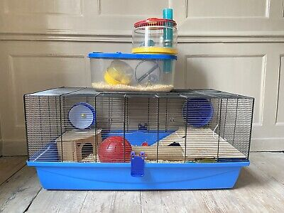£1.70 • Buy Hamster Cage/Box With Assorted Accessories
