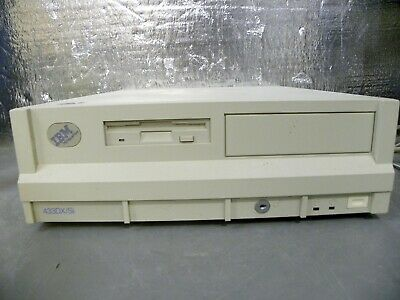 AU250.95 • Buy IBM 486DX  Value Point VTG Computer 212MB Hard Drive 1.44 Floppy PC DOS 6.1