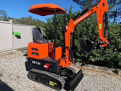 AU18990 • Buy 2021 SD13D Yanmar Diesel WITH Swing Boom AND 9 Heavy Duty Attachments