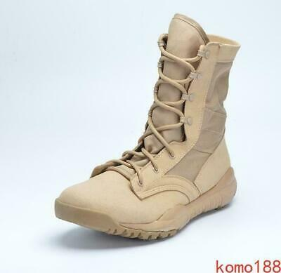 $ CDN65.12 • Buy Mens Army Boots Outdoor Work Military Combat Tactical Ankle Boots High Top Shoes
