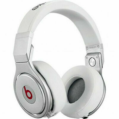 $ CDN1.20 • Buy Beats  RARE WHITE  Headphones  By Dr. Dre Beats Pro Silver-WHITE /  Audio Cord