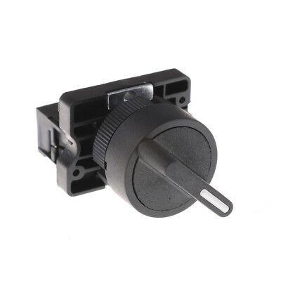 £3.96 • Buy On/Off 2Position Rotary Select Selector Switch 1 NO 10A 600V AC XB2-ED21 JO