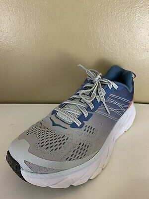 $ CDN72.56 • Buy HOKA ONE ONE Clifton 6 Womens Size 8 D Wide Gray Blue Athletic Running Shoes