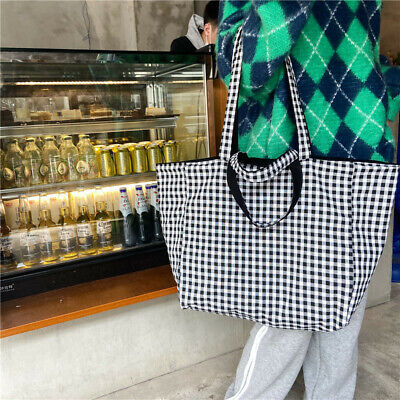 $ CDN21.76 • Buy Women's Natural Cotton Large Shopping Single Canvas Shoulder Tote Bag Hand Bags