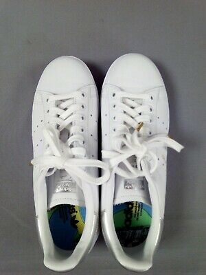 AU29.09 • Buy Women's Adidas Stan Smith White Lace-Up Trainers Size:UK6 (New Without Box)