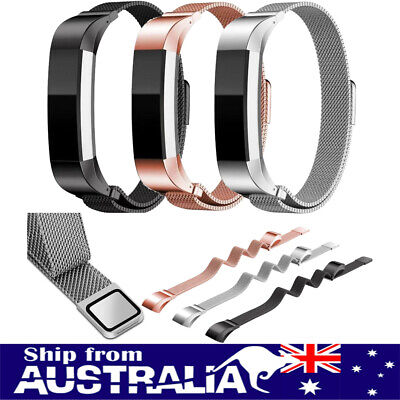 AU11.99 • Buy AU Replace Magnetic Milanese Stainless Steel Watch Band Strap For Fitbit Alta/HR