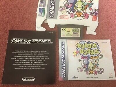 £9.99 • Buy Bubble Bobble Old And New 2003-(European Version) Boxed With Manuals