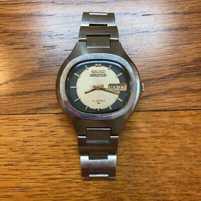 $ CDN139.13 • Buy Seiko 7019-5010 Automatic 5 Actus Vintage Good Working Junk Watch (sk-1102