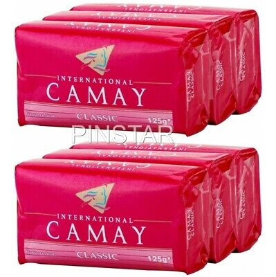 £6.79 • Buy 6 X 125g Camay ~ Classic Soap Bars Softly Scented