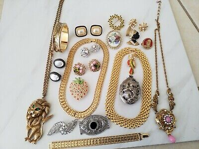 $ CDN60.66 • Buy ✨✨✨Estate Find Vintage Signed Unsigned Wearable Jewelry Lot