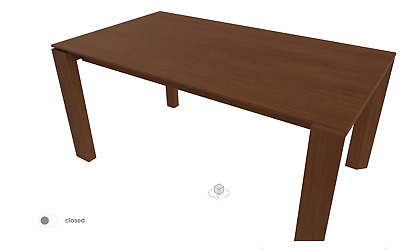 £100 • Buy Calligaris Extendable Dining Table - OMNIA