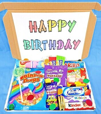 £8.50 • Buy Chocolate & Sweets Mix Gift LetterBox Hamper- NEW BIG BROTHER/SISTER
