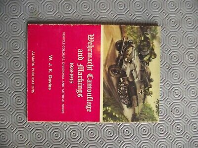 £6 • Buy Almark Wehrmacht Camouflage And Markings 1939 - 1945 Davies